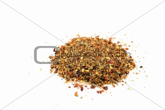 Close up of Mixed Piri Piri spice