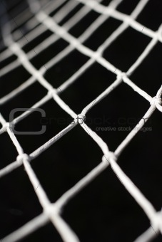 close up photograph  of net