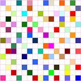 colorful grid board