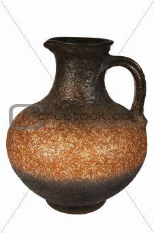 Beautiful ancient jug