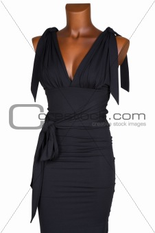 Black female dress