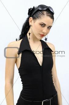Beautiful hispanic model