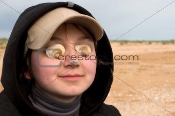 blind beautiful women