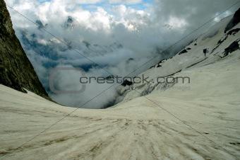 Attractive glacier