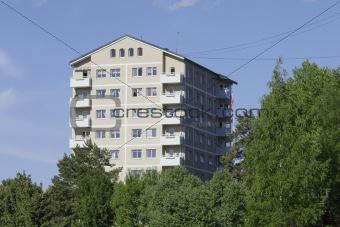 Block of flats. .
