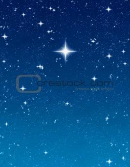bright wishing star