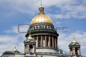 Cathedral in Saint-Petersburg