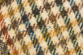 background tweed wool fashion