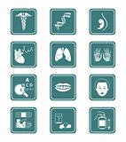 Medicine icons | TEAL series