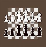 An illustration of chess piece