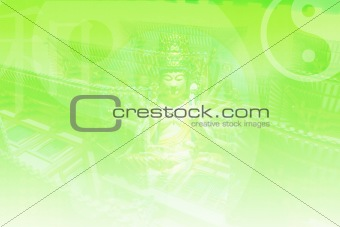 Abstract Growth Background