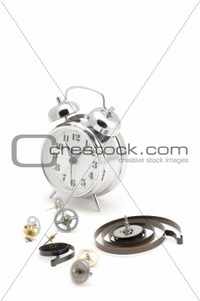 clockwork with clock