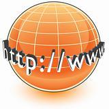 Orange HTTP WWW Globe