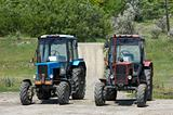 two wheeled tractors