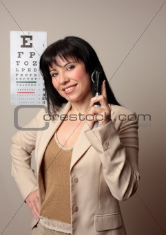 Happy Optometrist