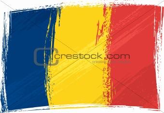 Grunge Chad flag