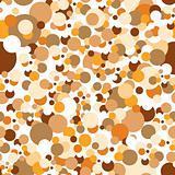 Seamless confetti pattern