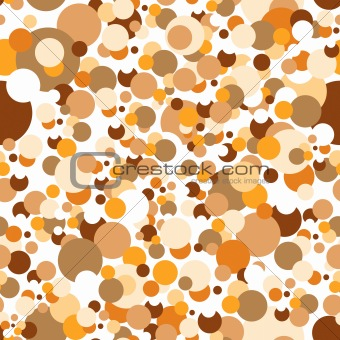 Seamless confetti pattern