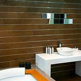 Wooden lavatory