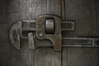 Old Wrench Abstract