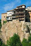 Hunging house in the city of Cuenca