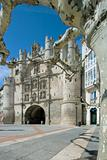 Arco de Santa Maria in the city of Burgos