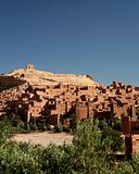 Scenic shot of Ait Ben Haddou - Morocco