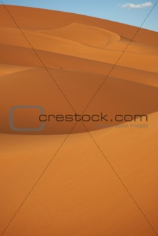 Abstract of sand dunes