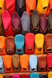 Selection of colourful shoes