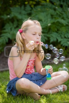 Blowing many bubbles
