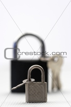 Padlocks and keys