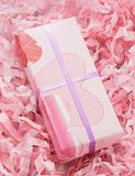Small pink gift box