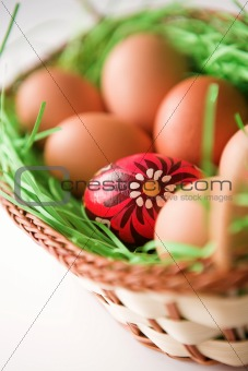 Don't put all your easter eggs in the same basket