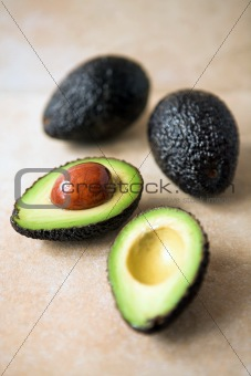 Avocados - sliced & whole