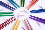 Multicolor sticks