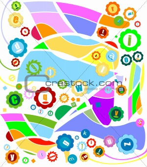abstract decorative design