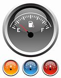 Dashboard fuel gauges
