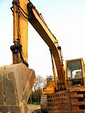 Backhoe Construction Equipment