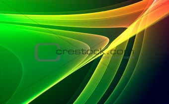 Colorful 3D abstract background