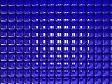background blue cubes