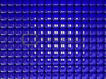background blue cubes