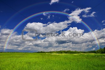 Green Grass Rainbow