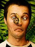 face snail