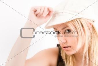 Blond sexy woman