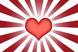 Heart Shaped Abstract Background Wallpaper