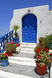 Blue House Door from Santorini