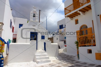 Church from Mykonos, Greece