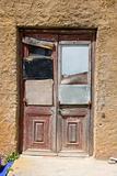 Mended door