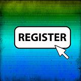 web button - register
