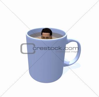 man in mug